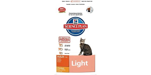 Hills Feline Light Chicken 10 kg