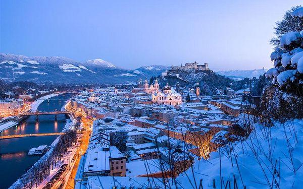 Salzburg, termální lázně a čerti ve Schladmingu s jednou nocí