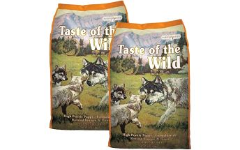 Taste of the Wild High Prairie Puppy 2 x 13,6 kg