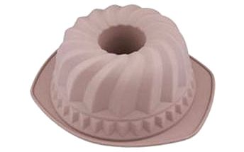 Forma na bábovku silikonová 24 cm, hnědá BERGNER BG-4727hned
