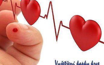 Analýza živé kapky krve pro hubnutí a detoxikaci