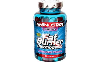 Aminostar Fat Burner Thermogenic - bez příchuti, 90 tablet