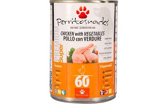 Perrito konzerva Chicken Vegetables 395 g