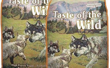 Taste of the Wild High Prairie Puppy 2 x 13,6 kg