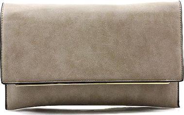 Hnědá kabelka - psaníčko 16216SOIL Velikost: UNI