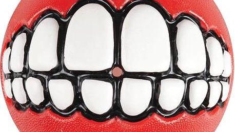 ROGZ GRINZ míček se zuby červený 7,8 cm