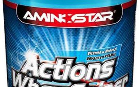 Aminostar Actions Whey Gainer - čokoláda, 2.25 kg