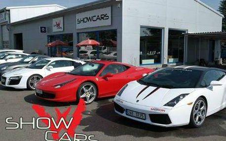 Supersporty v Showcars: Adrenalinová jízda v těch nejnadupanějších vozech