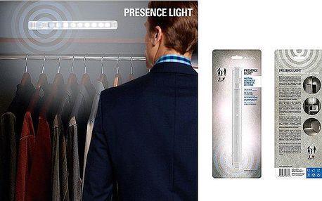 LED světlo se senzorem pohybu