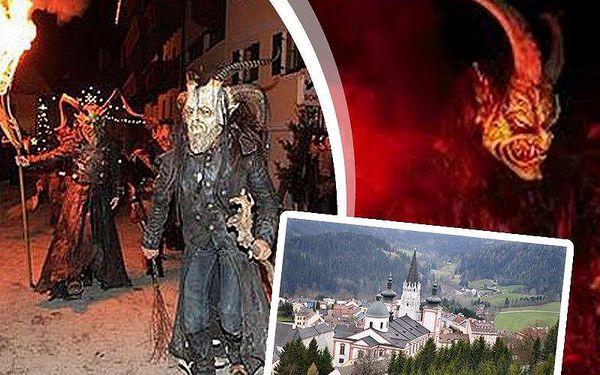 Adventní zájezd do rakouského Mariazellu s tradičním průvodem čertů a návštěvou adventních trhů.