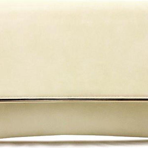 Béžová kabelka - psaníčko 16216BE Velikost: UNI