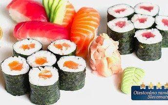 Sushi set nebo degustační menu pro 2 osoby