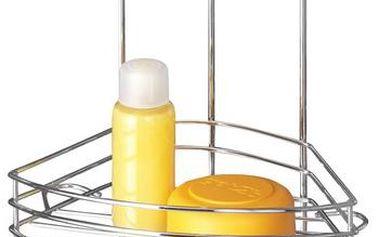 Rohový dvoupatrový stojan bez nutnosti vrtání Vacuum-Loc, až 33 kg