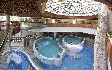 Maďarsko, luxusní relax 4 dny s polopenzí a neomezeným wellness Aqualand