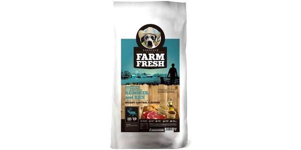 Farm Fresh Scandinavia Reindeer Weight Control Senior 15 kg + Doprava zdarma