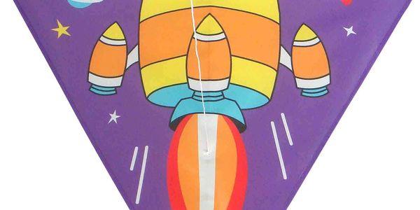 Dětský létající drak Raketa