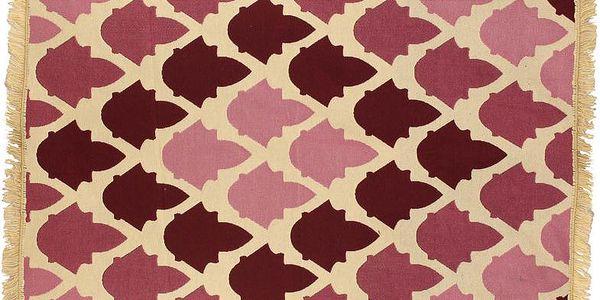 Koberec Baklava Claret Red, 80x150 cm