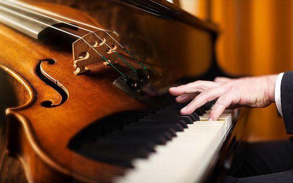 Koncert vážné hudby v podání Bohemian Symphony Orchestra Prague v Obecním domě v Praze