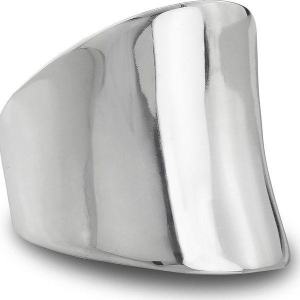 Prsten chirurgická ocel masivní