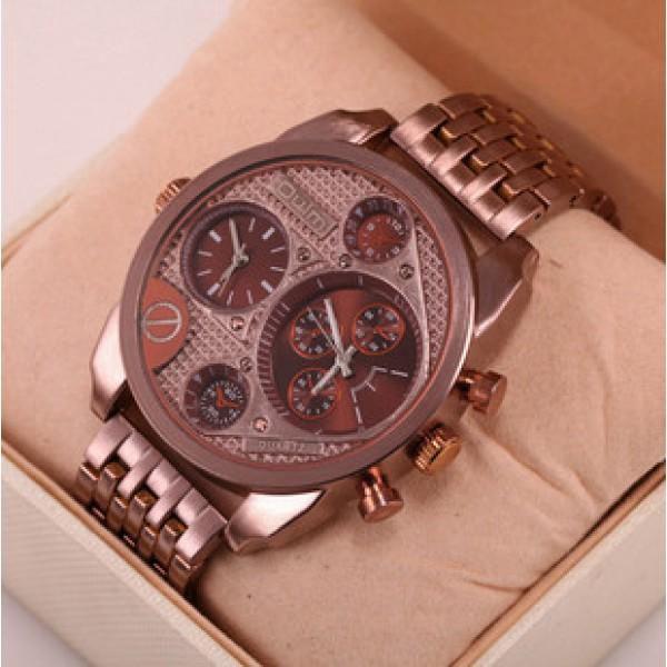 Luxusní pánské ocelové hodinky Relogio!