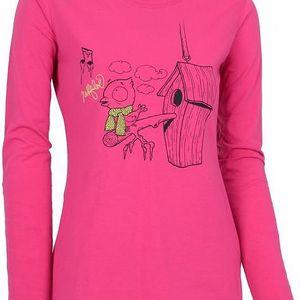 Dámské tričko Northfinder TR-4046OR - růžová