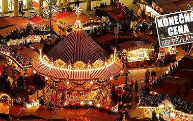 Nákupy i romantika v adventních Drážďanech