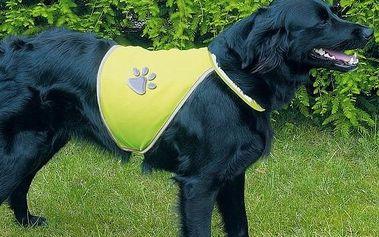 Trixie reflexní vesta pro psa vel. M
