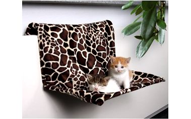 Trixie závěsné lůžko na topení motiv žirafa