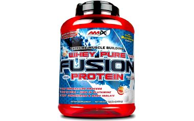 Amix Whey Pure Fusion Protein - vanilka, 1 kg