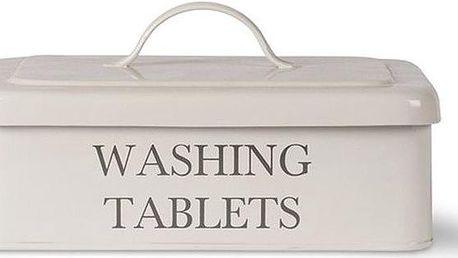 Box na tablety do myčky Washing Tablet, bílý