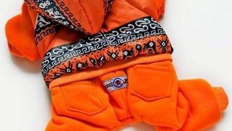 DogsLife overal Inka Orange vel. L