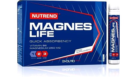 Nutrend Magneslife - 10 x 25 ml