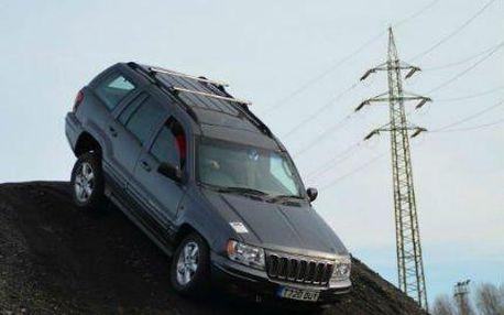 Adrenalinový zážitek na plný plyn v offroad Jeepu na polygonu Libros!