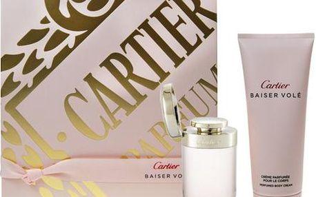 Parfémovaná voda Cartier Baiser Vole EDP dárková sada W - Edp 50ml + 100ml tělový krém