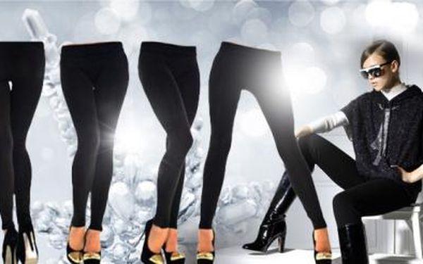 TROJE sexy zeštíhlující TERMO LEGÍNY pro dámy VČETNĚ POŠTOVNÉHO! Pohodlné legíny v černé barvě!