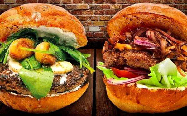 Našláplé burger menu v Tom´s burger Vinohrady