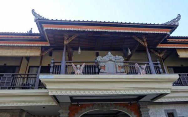 Bali, oblast Sanur, doprava letecky, snídaně, ubytování v 3* hotelu na 10 dní