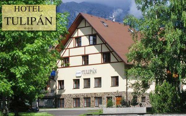 Hotel Tulipán*** s polopenzí a wellness + 2 osoby na přistýlce ZDARMA
