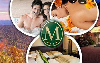 Wellness pobyt na 3 dny pro dva s polopenzí v Hotelu Morris****. Masáže, sauna, zábaly a další!!
