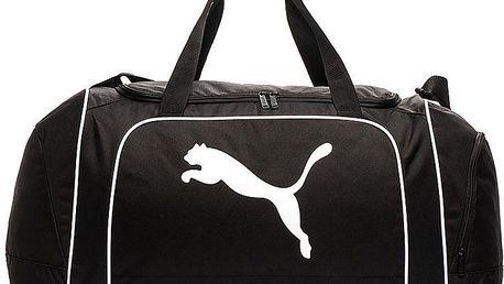 PUMA Team Cat Medium 48l black sportovní taška