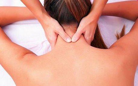 Masáž proti migréně a bolestem krční páteře