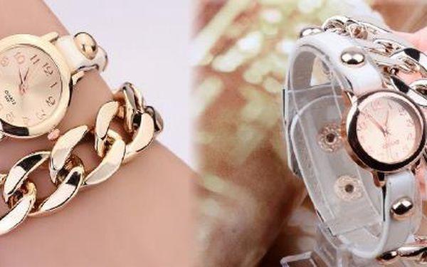 Elegantní hodinky s řetízkem - Udělejte radost sobě nebo svým blízkým !!