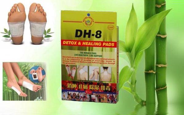 2 balení detoxikačních náplastí na celé tělo!
