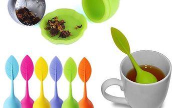 Lžička s praktickým čajovým sítkem
