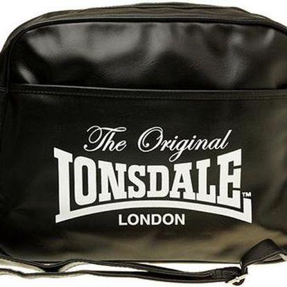 Pánská taška Lonsdale s popruhem, černá