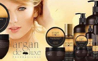 Arganová výživa pro vlasy 250ml Vám přínáší Luxusní kanadská kosmetika Argan De Luxe . Bohatá a vysoce hydratační maska pro všechny typy vlasů.