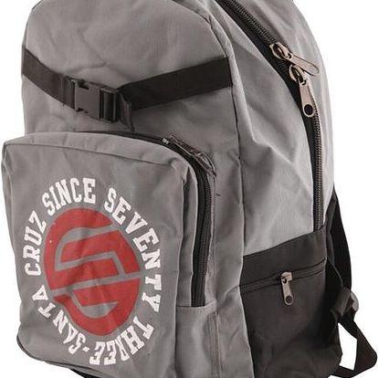 batoh SANTA CRUZ - Circulate Backpack Grey (GREY) velikost: OS