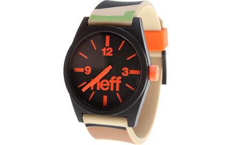 hodinky NEFF - Zumiez Daily Helv Camo (CMOR) velikost: OS