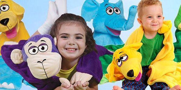 Plyšová deka pro děti