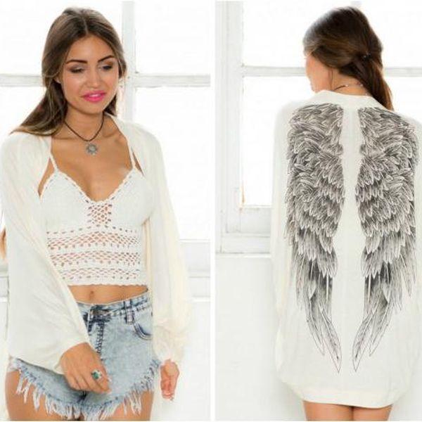 Kardigan s andělskými křídly Angel!